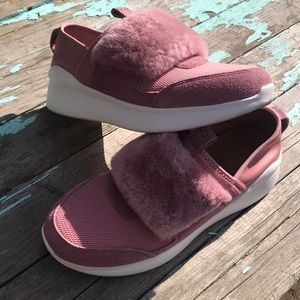 UGG PINK DAWN PICO NEOPRENE FASHION SNEAKERS #8
